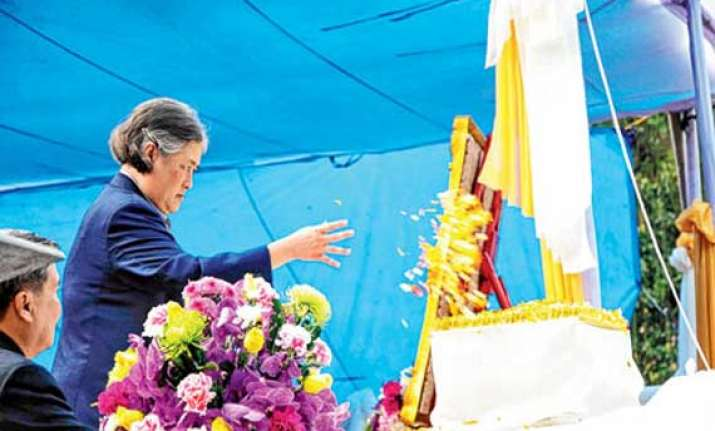 thai princess visits nagaland university
