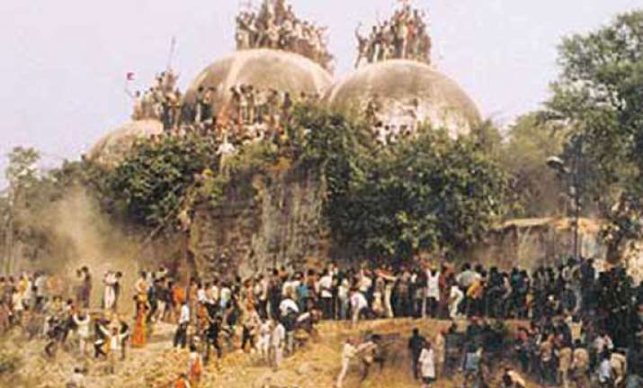 babri dispute still stuck in a tense legal tug of war