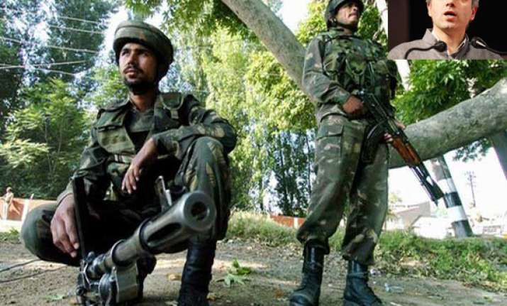 think coolly about withdrawal of afspa in kashmir says omar