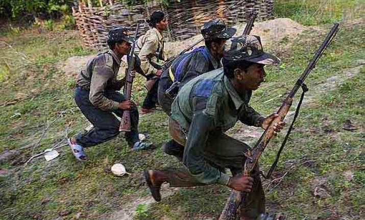 three hardcore naxals held in chhattisgarh