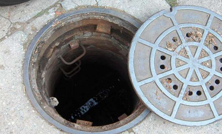 three year old girl dies after falling into open manhole
