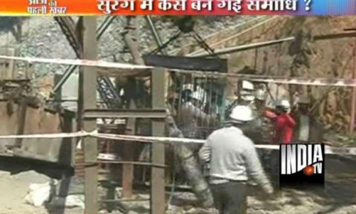 three killed in udaipur tunnel mishap
