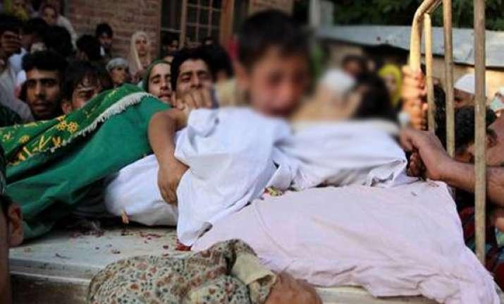 three bodies found in different parts of kashmir valley