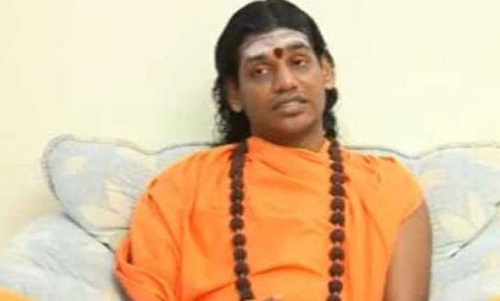 throw nithyananda out from karnataka pro kannada outfits