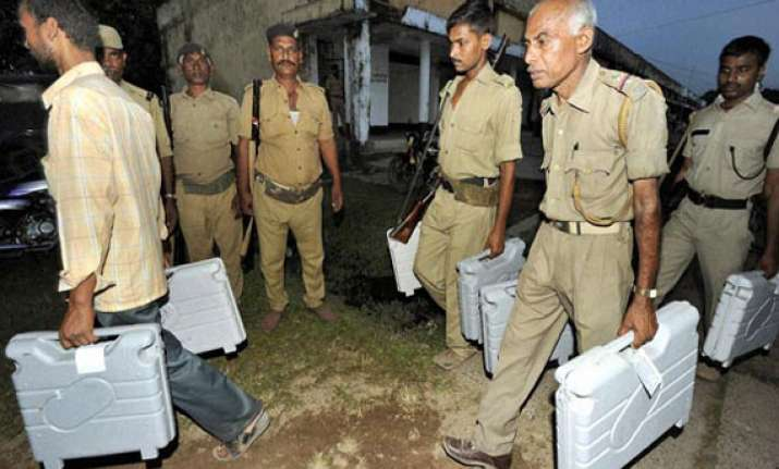 tight security in place for second phase of polling in bihar
