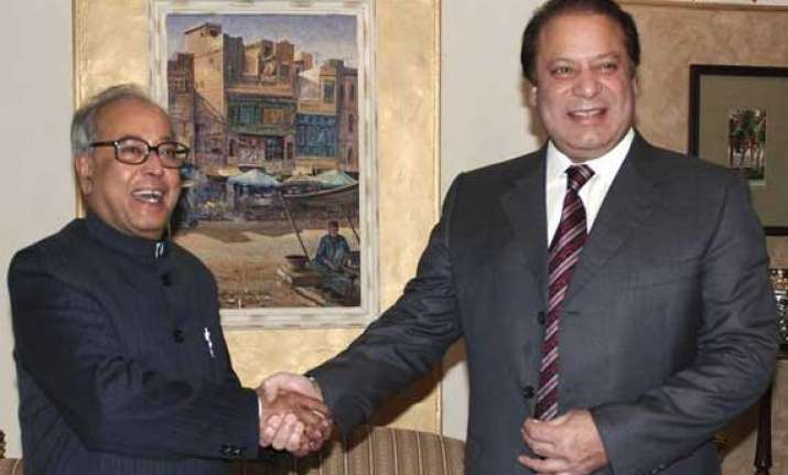 time for india pak to remove mutual mistrust sharif to