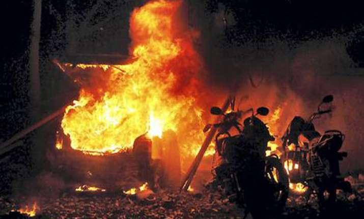 timeline of major blasts in india