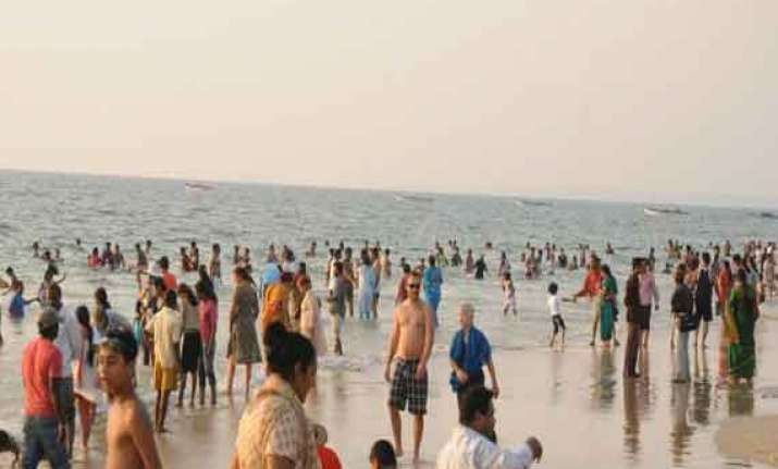 tourists on goa beaches to be under cctv surveillance