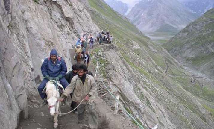 traditional pahalgam route to amarnath to open on jul 2