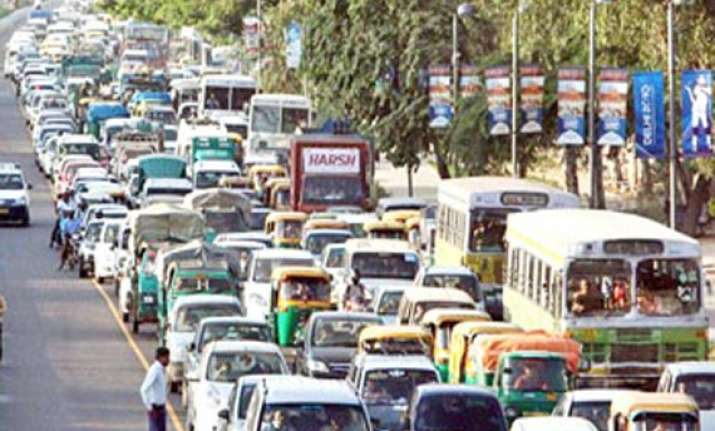 traffic diversions in delhi for li visit