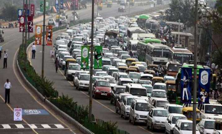 traffic diversions on nh 24 likely tuesday