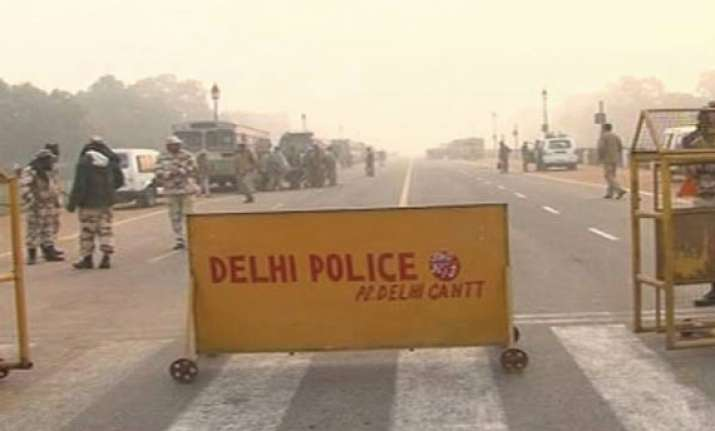 traffic restrictions eased near india gate raisina hills