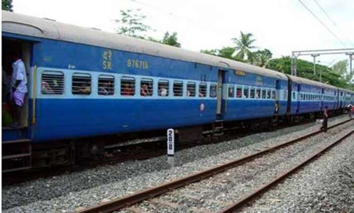 train services resume in chapra section after rajdhani