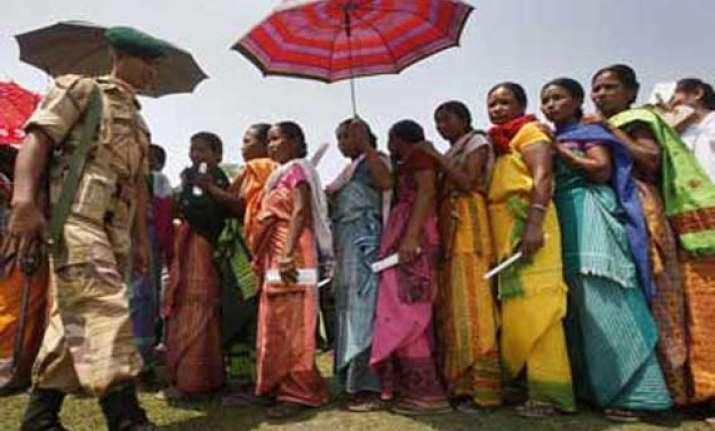 tribal refugees in tripura cast postal ballot for mizoram