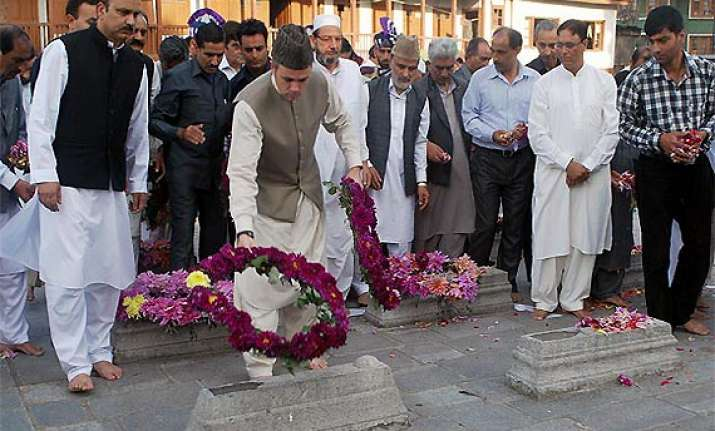 tributes to 1931 martyrs amid separatist shutdown in