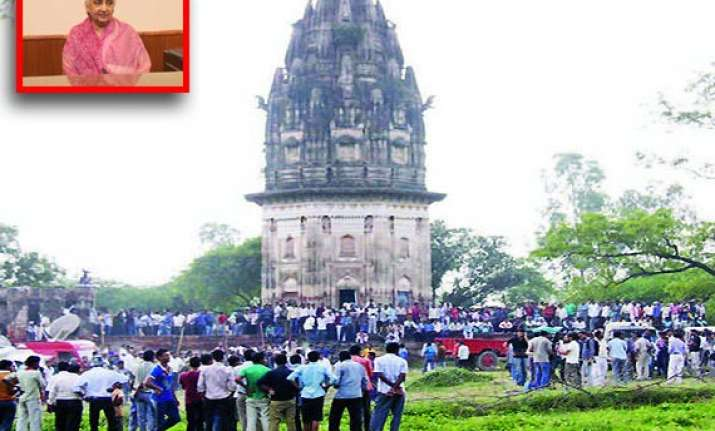 trying to locate weapons used in 1857 mutiny in unnao says