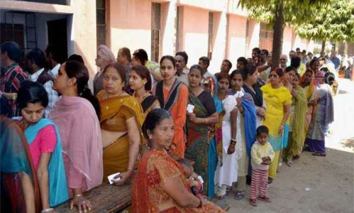 turnout 54.21 per cent in final leg of voting in up