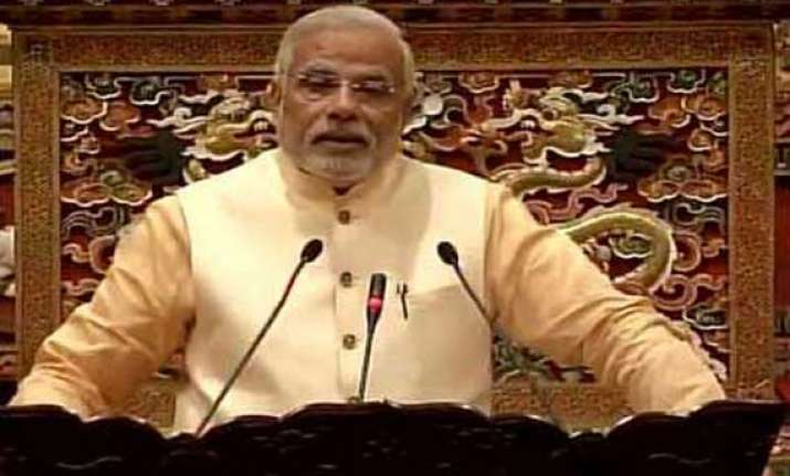 twitter flooded with jokes after narendra modi s slip of