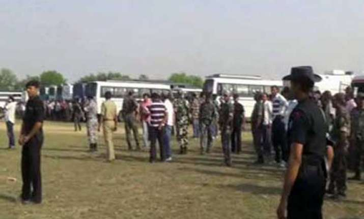 two crpf jawans killed in bihar before start of polling