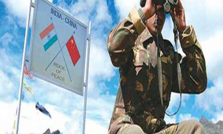 two chinese choppers transgressed the lac entered