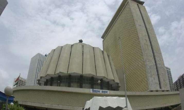 two maharashtra legislators suspended for rowdy behaviour