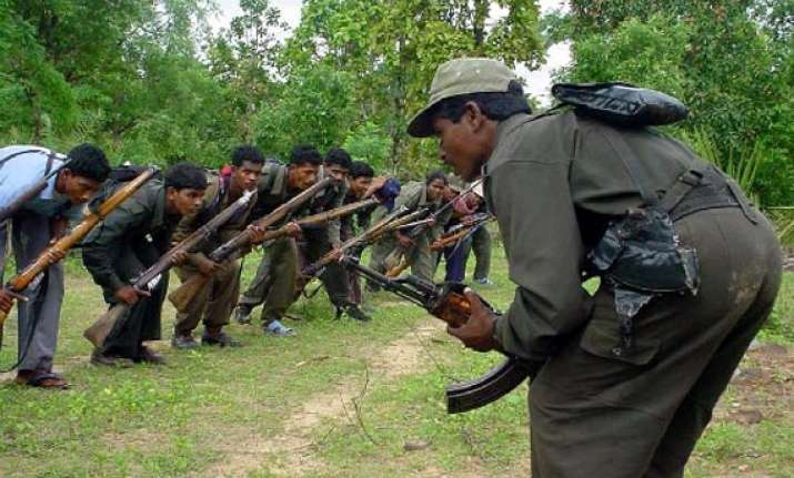 two maoist couriers arrested with explosives cache