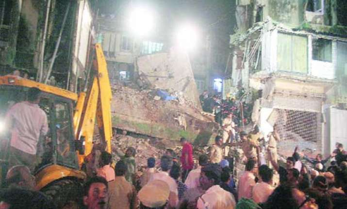 three dead in building collapse ndmc suspends 3 officials