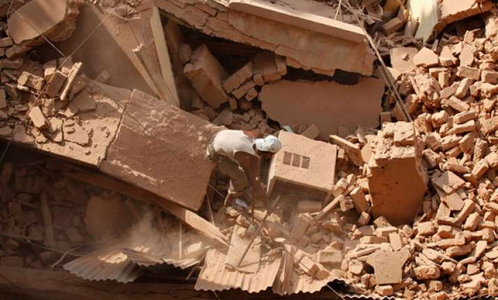 two dead two missing as building roof collapses in south