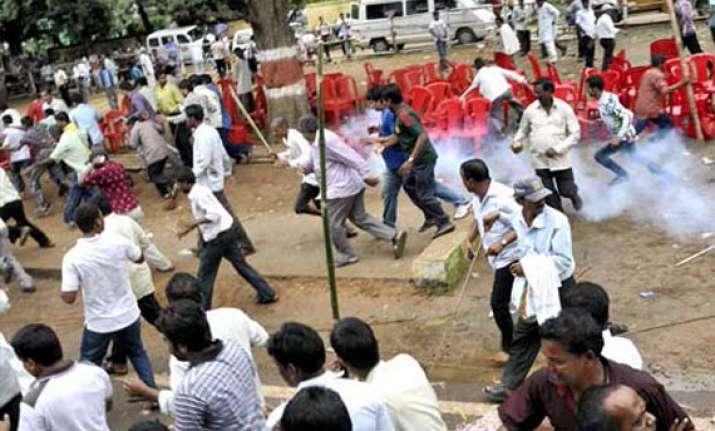 two killed 16 hurt in odisha clash