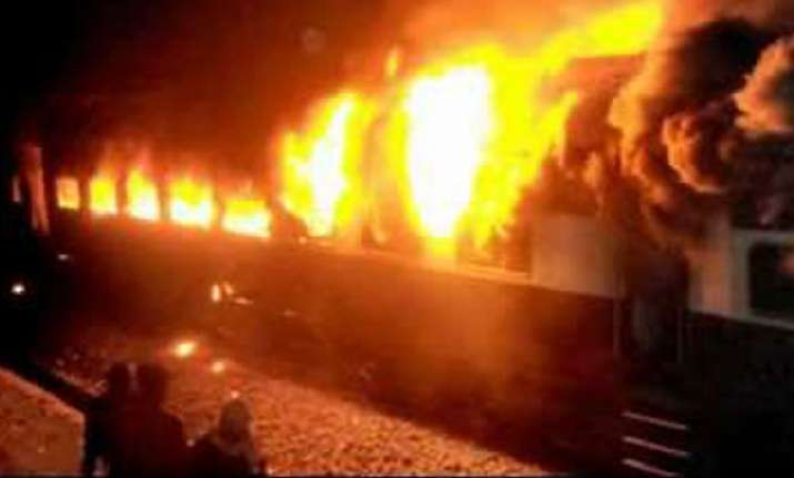 two ac coaches of gt express from chennai catch fire one