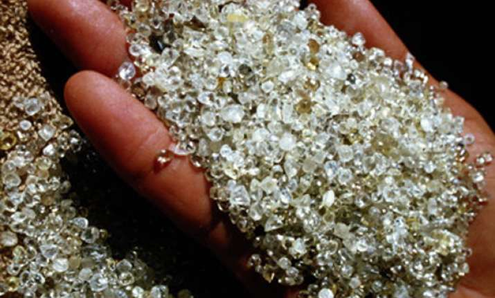 two africans held for smuggling diamonds