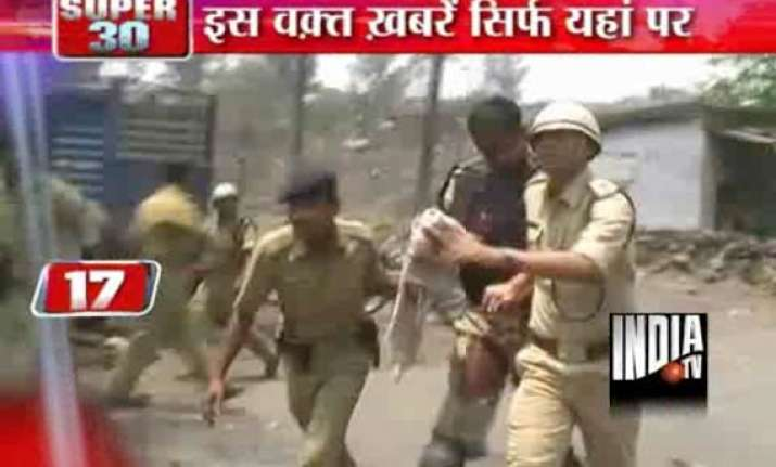 three persons killed in clash curfew imposed in dhanbad