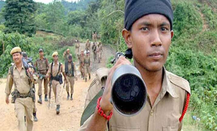 two militants killed in encounter in assam