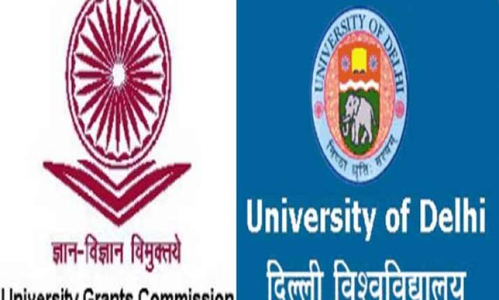ugc asks du not to conduct admission under fyup warns of