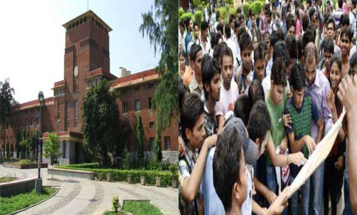 ugc cracks whip on du asks colleges to begin admissions