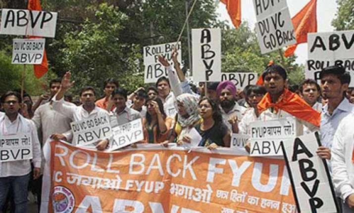 ugc rejects du s proposal asks to roll back fyup start