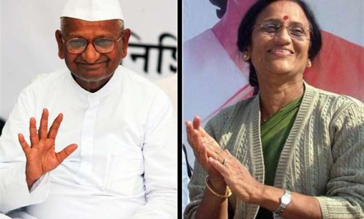 up congress invites anna for anti graft movement