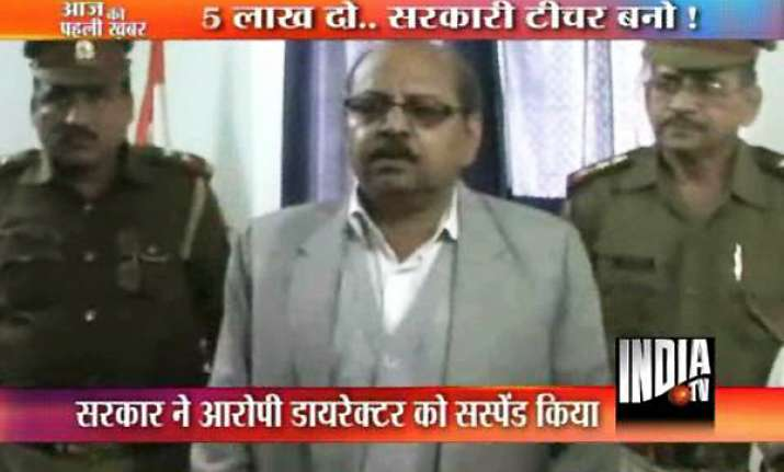 up secondary education board director arrested in tet scam