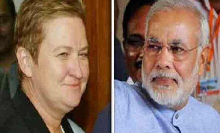 us envoy nancy powell to meet modi on thursday