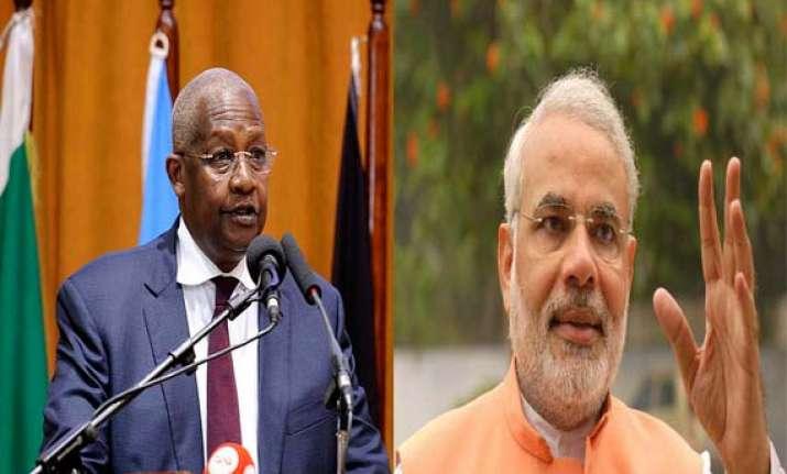 uganda foreign minister meets modi