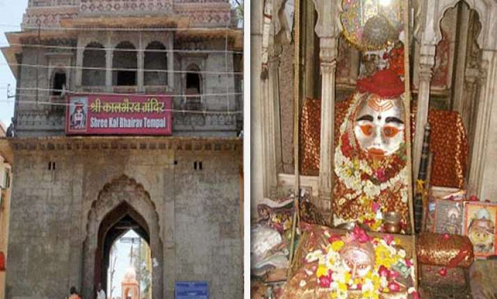 ujjain s kalbhairav the god to whom hindu devotees offer
