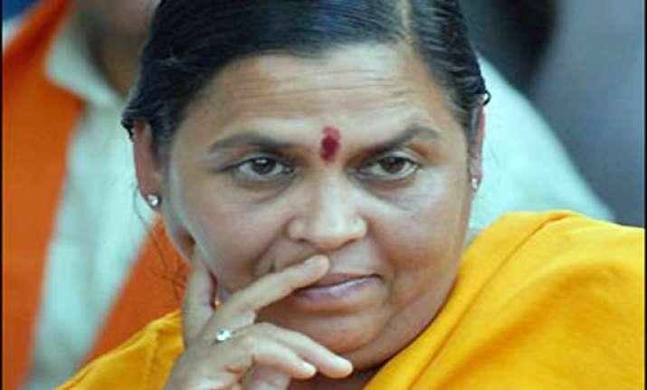uma bharti owns property worth rs 80 lakhs