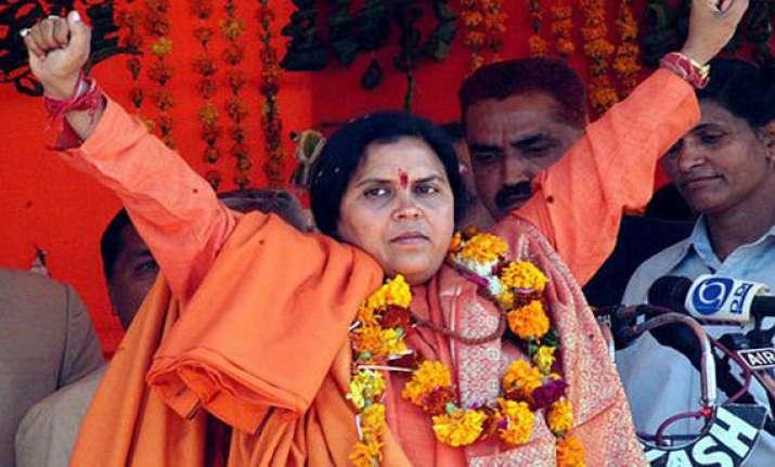 uma bharti to contest up assembly poll