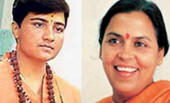 uma meets sadhvi pragya in jail