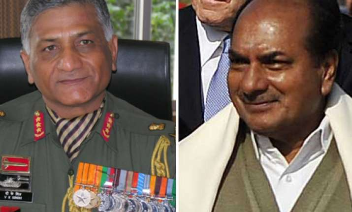 unfortunate controversy over gen singh age over says antony