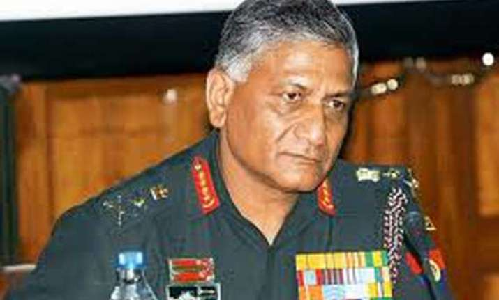 union minister vk singh condemns attacks in northeast