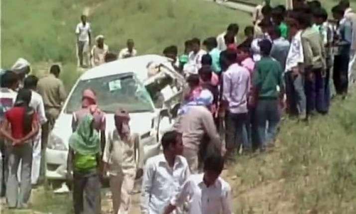 uttar pradesh minister satai ram yadav dies in accident