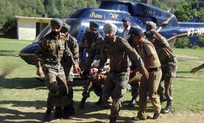 uttarakhand all policemen evacuated from kedarnath over 200