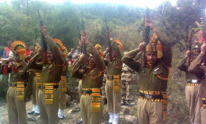 uttarakhand 20 iaf army itbp martyrs to get guard of honour