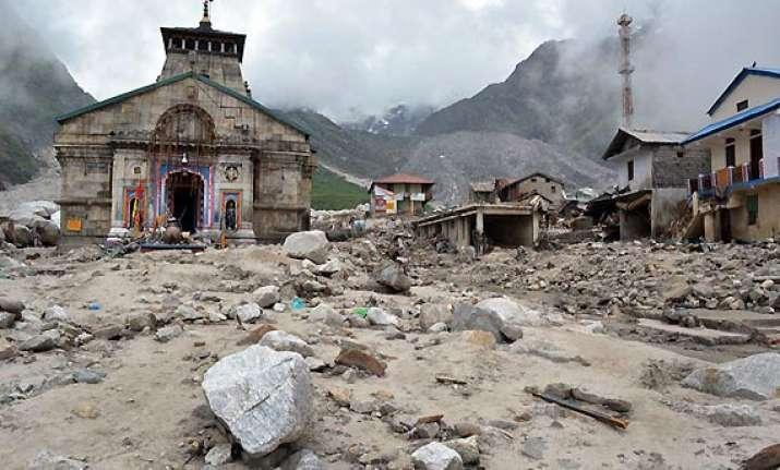uttarakhand prayers to restart at kedarnath temple from sep